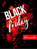 Black Friday-tekst royalty-vrije illustratie