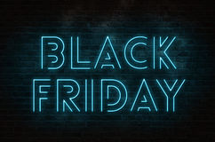 Black Friday tekst Obraz Royalty Free