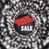 Black Friday temat Obrazy Stock