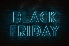 Black Friday text royaltyfri illustrationer