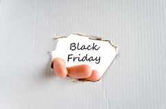 Black friday text concept Stock Photography
