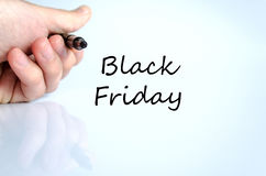 Black friday text concept Royalty Free Stock Photo