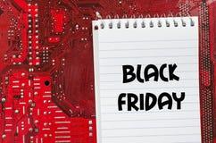 Black friday text concept Stock Photos