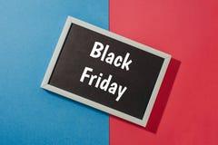 Black Friday - texto en la pizarra foto de archivo libre de regalías