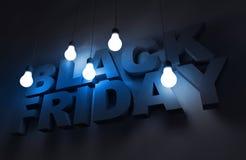Black Friday-Thema Lizenzfreie Stockbilder