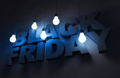 Black Friday Theme Royalty Free Stock Images