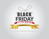 Black Friday toppna Sale Arkivfoto