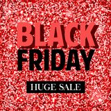 Black Friday. Vector banners for black friday day royalty free illustration