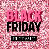 Black Friday. Vector banners for black friday day stock illustration