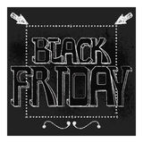 Black Friday vector Royalty Free Stock Photography
