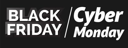 Black friday. Vector illustration. For flyers invitation posters brochure banners Royalty Free Stock Image