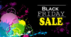 Black Friday. Vector illustration Royalty Free Stock Images
