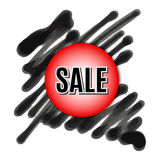 Black Friday. Vector image with inscription black friday. Stock Photos