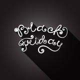 Black Friday. vector Vintage design poster template. Vector lettering Black Friday. Creative lettering. Trendy. Black Friday Sale Royalty Free Stock Photo