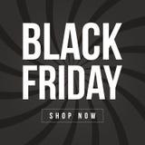 Black Friday-Verkaufsaufschrift-Designschablone Lizenzfreie Stockbilder