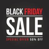Black Friday-Verkaufshintergrundsammlung Stockbild