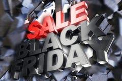 Black Friday, Verkaufsmitteilung für Geschäft Einkaufsspeicherfahne des Geschäfts für Black Friday Black Friday, das Boden zerque stock abbildung