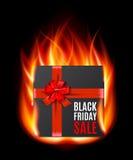 Black Friday-Verkoop gifbox Stock Foto's