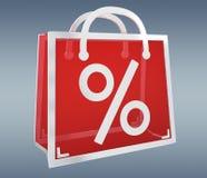 Black Friday-verkoop het digitale pictogrammen 3D teruggeven Stock Foto's