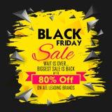 Black Friday-Verkoop het winkelen Aanbieding en Bevorderingsachtergrond op vooravond van Vrolijke Kerstmis Stock Fotografie
