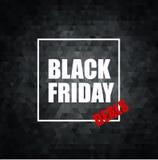 Black Friday-Verkoop Vectorillustratie vector illustratie