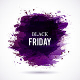 Black-Friday-violet Royalty Free Stock Photo