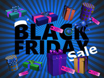 Black Friday. Web banner promoting a Black Friday sale Royalty Free Stock Images