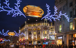 Black Friday weekend in London the first sale before Christmas. Regent street Stock Images