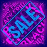Black Friday Wordcloud Tekst chmura Typografii pojęcie również zwrócić corel ilustracji wektora obrazy royalty free