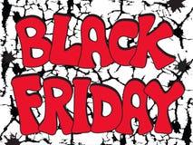 Black friday written Stock Image