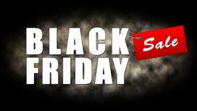 Black Friday zakupy sztandar Zdjęcie Royalty Free