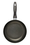 Black Frying Pan (clipping path) Royalty Free Stock Photography
