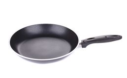 Black frying pan Royalty Free Stock Photos