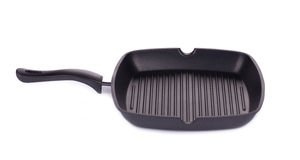 Black frying pan. Stock Photography