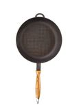 Black frying pan. Stock Images