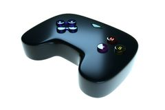 Black game joystick Stock Photography