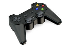 Black Gamepad closeup Stock Photos