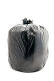 Black garbage bag Royalty Free Stock Photo