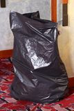 Black Garbage bag Royalty Free Stock Image