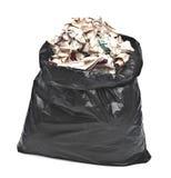 Black Garbage Bag Stock Photography