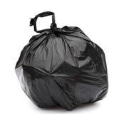 Black garbage bag Stock Photos