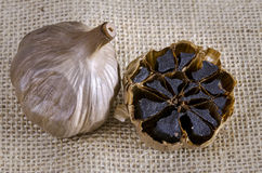 Black garlic Stock Photography
