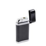 Black gas lighter Stock Photo