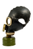 Black Gas Mask Royalty Free Stock Photo