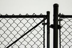 Black Gate Stock Photography