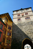 Black Gate in the town of Rottweil Stock Photo