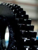 Black gear Royalty Free Stock Photography