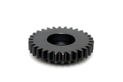 Black gear Royalty Free Stock Image