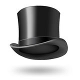 Black gentleman hat Stock Photo