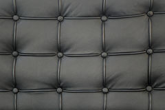 Black genuine leather Royalty Free Stock Images